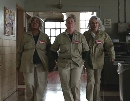 Yvette Freeman, Dale Soules and Judith Roberts in 'Orange is the New Black'. Photo Credit: Netflix.