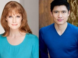 Kate Baldwin and Paolo Montalban