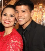 Lea Salonga and Telly Leung. Photo by Lia Chang