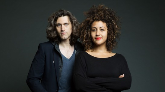 RED SPEEDO playwright Lucas Hnath and director Lileana Blain-Cruz. Photo courtesy of NYTW