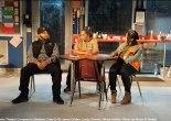 Jason Dirden, Lynda Gravatt and Nikiya Mathis in Atlantic Theater Company's Skeleton Crew. Photo by Ahron R. Foster