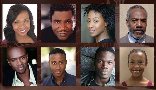 The cast of 'The Piano Lesson'.