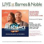 allegiance at Barnes and Noble