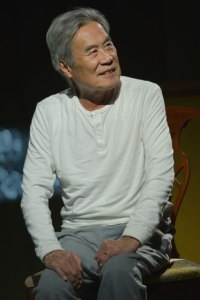 Sab Shimono (Ray's father) in Julia Cho's Aubergine at Berkeley Rep. Photo courtesy of kevinberne.com
