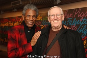 André De Shields and Len Cariou are among the Broadway favorites set for #BroadwayBackwards on Mar. 21, 2016. Photo by Lia Chang