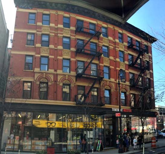 Tenement Museum. Photo by Lia Chang