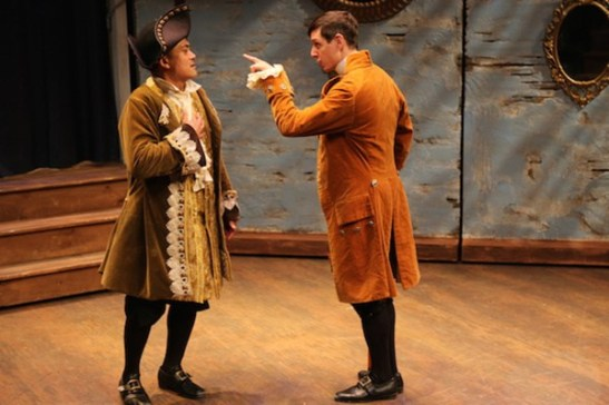 Ariel Estrada (Don Bernard) and Tom Giordano (Camillo). Photo by Amanda Hinkle.