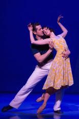 Robert Fairchild and Leanne Cope in An American in Paris. Original Broadway Cast. Credit Matthew Murphy