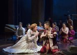Marin Mazzie and Daniel Dae Kim. Photo by Paul Kolnik