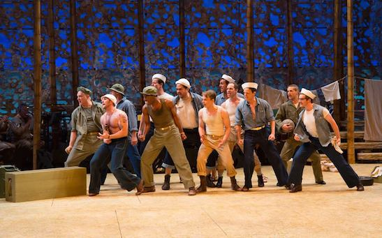 The cast of SOUTH PACIFIC. Photo by T. Charles Erickson.