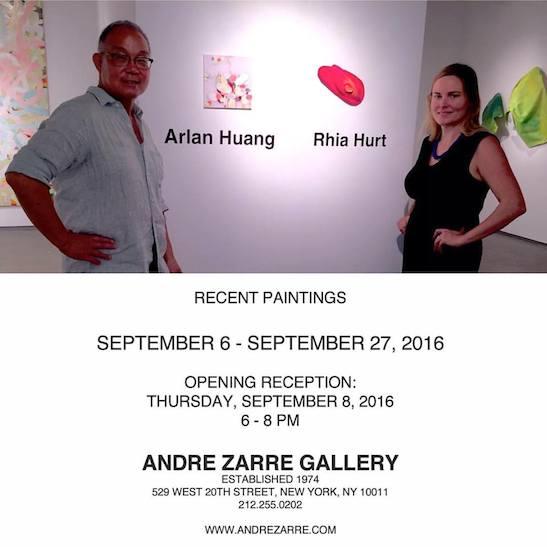 Arlan Huang and Rhia Hurt.