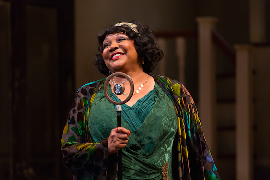 Arnetia Walker as Ma Rainey in August Wilson's Ma Rainey's Black Bottom at Two River Theater. Photo by T. Charles Erickson