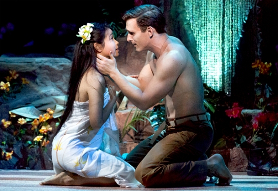 Alison T. Chi and Ben Michael. Photo by Mark Garvin