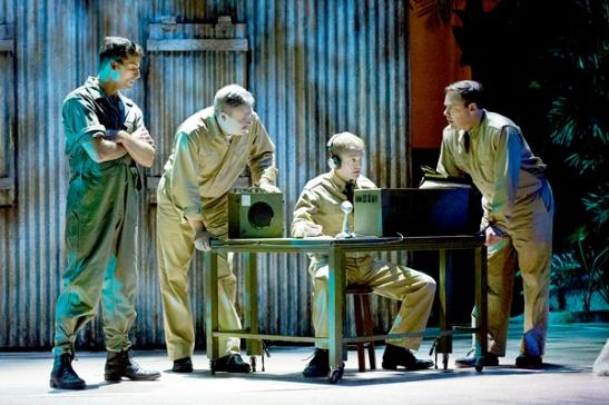 Sean Thompson, Dan Olmstead, Owen Pelesh, and Jeffrey Coon. Photo by Mark Garvin