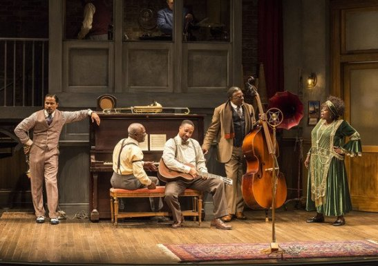 Jason Dirden, Glynn Turman, Damon Gupton, Keith David and Lillias White Photo by Craig Schwartz