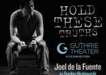 "Joel de la Fuente as Gordon Hirabayashi in Jeanne Sakata's 'Hold These Truths"". Photo by Lia Chang"