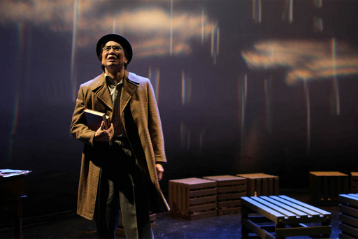 Gordon Hirabayashi, as portrayed by actor Greg Watanabe, decides to defy the curfew ordered against all those of Japanese ancestry by the U.S. government. Hirabayashi was one of only three people to challenge the order. Photo courtesy of Akiko Nishijima Rotch