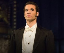 Jordan Donica as Raoul. Photo by Matthew Murphy