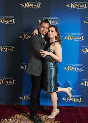 Jose Llana and Laura Michelle Kelly. Photo by KSP Images
