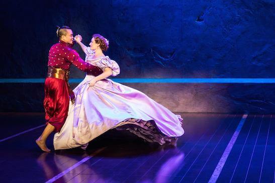 Jose Llana and Laura Michelle Kelly in THE KING AND I. Photo by Matthew Murphy