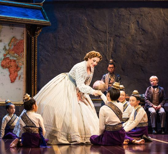 Laura Michelle Kelly and the cast of THE KING AND I. Photo by Matthew Murphy