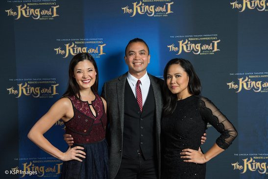 Manna Nichols, Jose Llana and Joan Almedilla. Photo by KSP Images