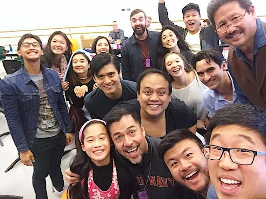 The cast of THE REMARKABLE JOURNEY OF PRINCE JEN. Photo courtesy of Raymond J. Lee/Facebook