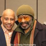 Ruben Santiago Hudson and Anthony Chisholm. Photo by Lia Chang