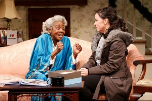 Marjorie Johnson and Finnerty Steeve in Colman Domingo's DOT at The Vineyard. Photo Carol Rosegg