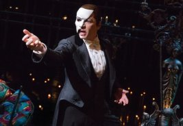 James Barbour as the Phantom. Photo by Matthew Murphy